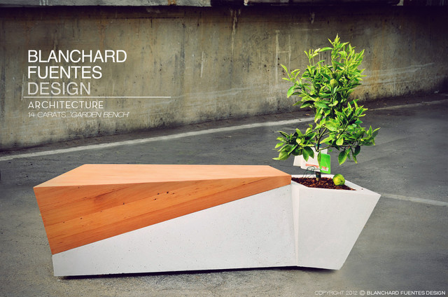 Los Angeles - contemporary - benches - los angeles - by Blanchard
