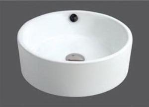Bathroom Ceramic Vessel Vanity Sink Basin Bowl modern-bathroom-sinks