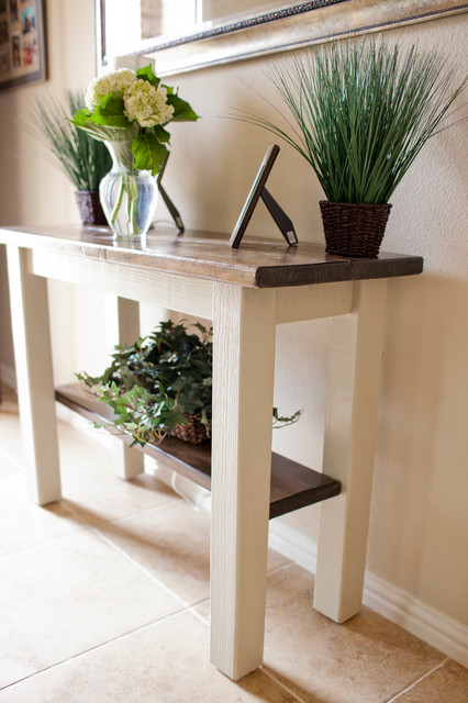 Houzz Foyer Furniture : Foyer and entry way tables farmhouse buffets