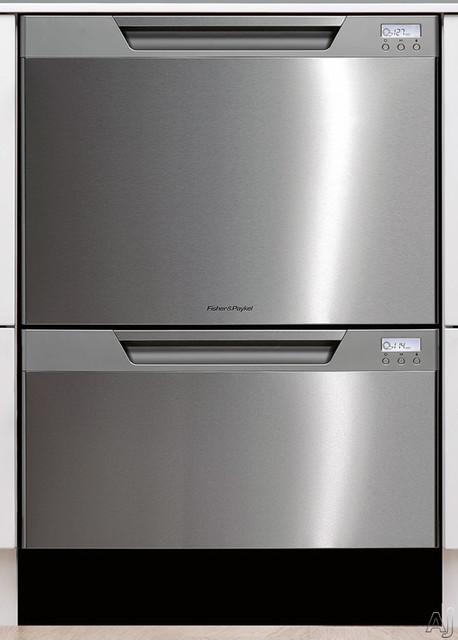 Fisher Paykel  Semi-Integrated Double Drawer Dishwasher contemporary-dishwashers