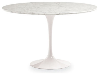 saarinen tulip table room and board midcentury
