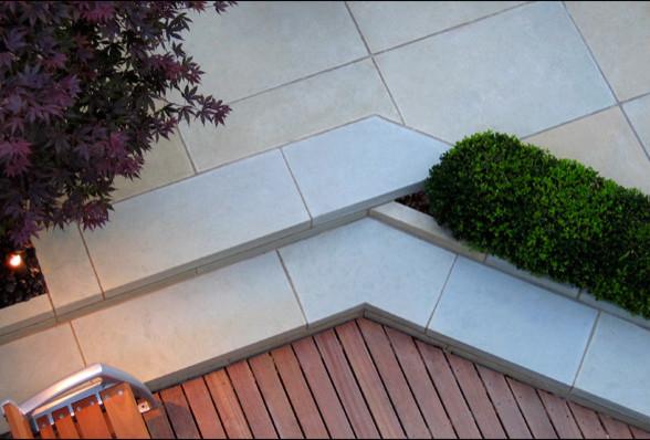 Primrose Hill Garden, London contemporary-patio