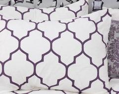 aubergine moroccan duvet cover eclectic-duvet-covers