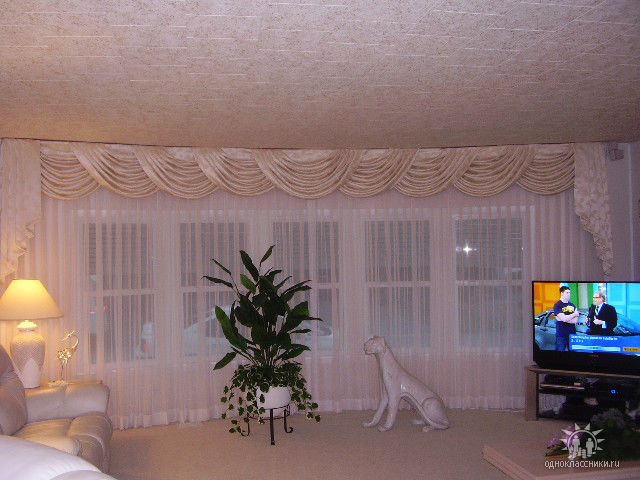 Swags And Cascades Traditional Curtains Tampa By Decor Style Llc