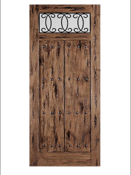 OLD WORLD ENTRY DOORS MODEL # 156 Lima -