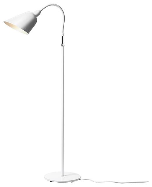 &Tradition - Bellevue AJ2 Floor Lamp White modern-floor-lamps