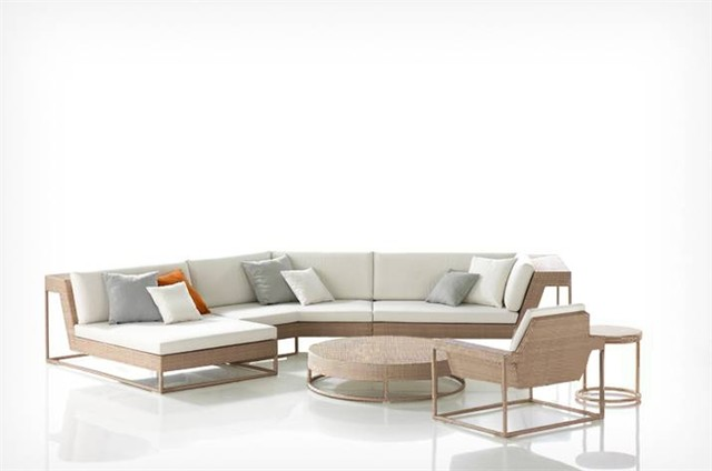Miami Signature Patio Sectional Modern Patio Furniture