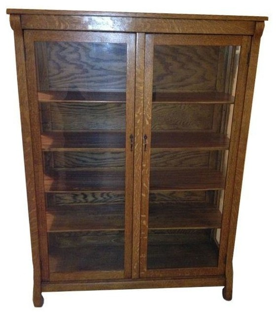 Antique China Cabinet - Farmhouse - China Cabinets And Hutches - by Chairish