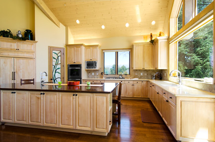 New Construction Custom Home traditional-kitchen