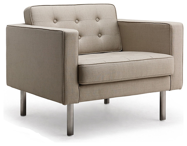 Chelsea armchair modern armchairs and accent chairs for Contemporary armchair