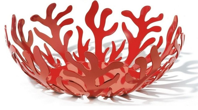 Alessi Mediterraneo Fruit Holder, Large contemporary-plants