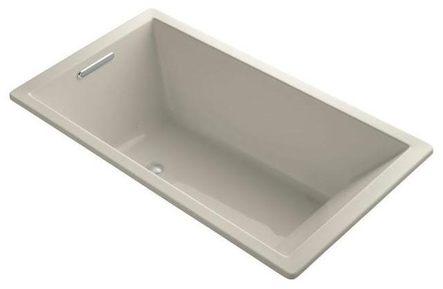 KOHLER Jetted Bathtubs Underscore 5.5 ft. Air Bath Tub in ...