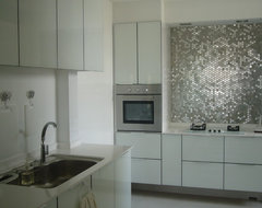 Bling Bling Kitchen contemporary-kitchen