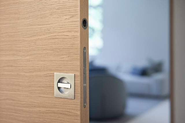 Valli u0026 Valli - Privacy Pocket Door Set - K1230 modern handles