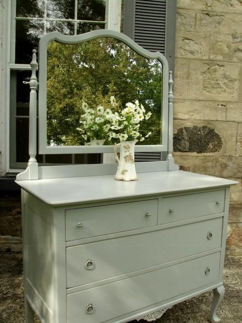 Shabby Chic Paris Grey Dresser - Traditional - toronto ...