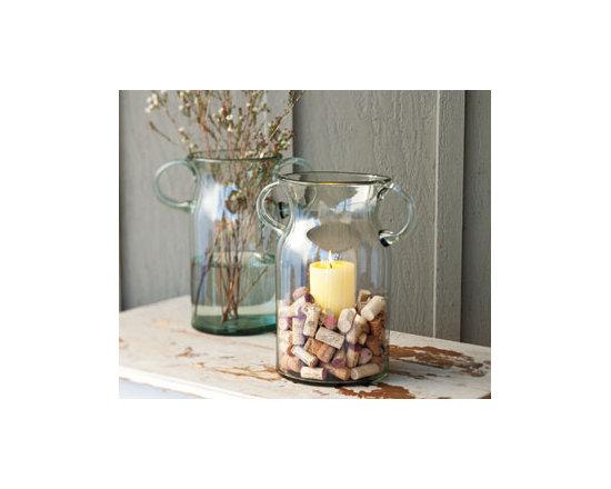 Prospero Glass Candle Vases -