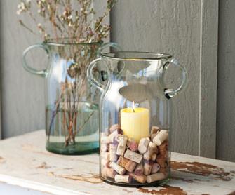 Prospero Glass Candle Vases modern-candleholders