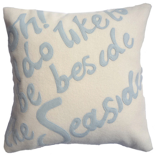 Seaside Cushion contemporary pillows