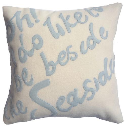 Seaside Cushion contemporary-pillows