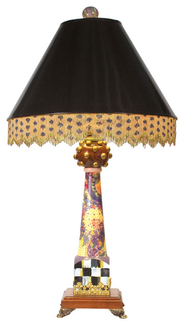 Lord Remillard Table Lamp | MacKenzie-Childs eclectic-table-lamps