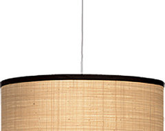 Jamie Young Co. Large Drum Pendant contemporary pendant lighting