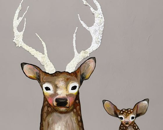 From Fawn to Dusk Wall Art -