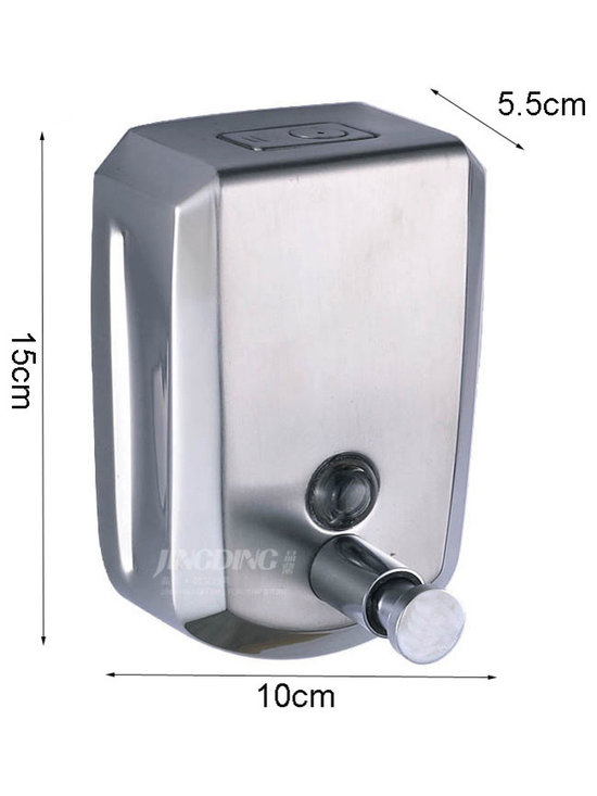 500ML Wall Mounted Soap Dispenser - Features: