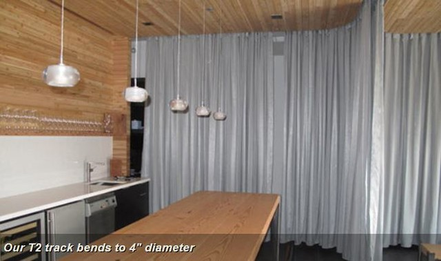 Fabric Room Dividers For Lofts Bendable Curtain Rod Contemporary Curtain Rods Indianapolis