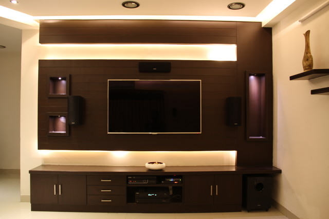 Armsburg my space flat 216 contemporary living room Tv unit designs for lcd tv