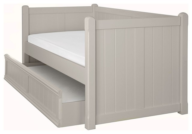 White Trundle Bed For Girls