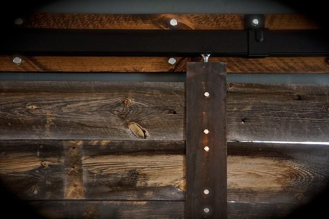 Sliding barn door rustic screens and room dividers for Barn door dividers