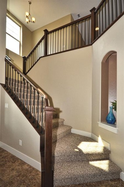 The Kerrville traditional-staircase