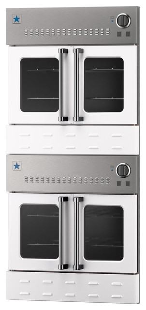 30 Quot Bluestar Double Gas Wall Oven Modern Ovens