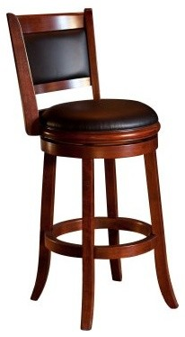 Boraam Augusta 29 in. Swivel Bar Stool contemporary-bar-stools-and-counter-stools