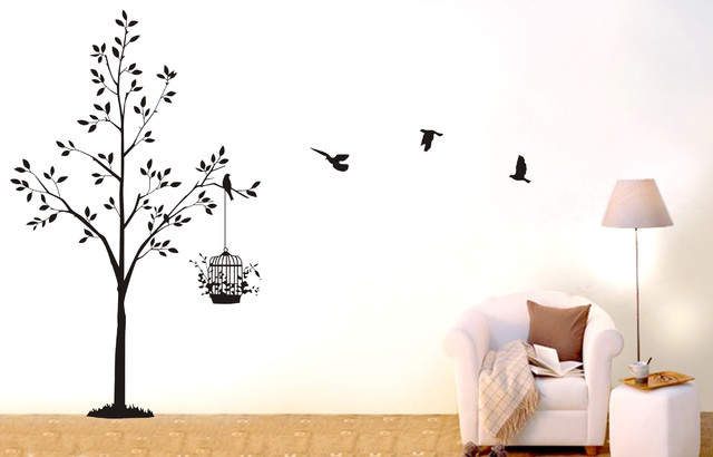 https://www.etsy.com/listing/102990347/tree-wall-decal-nursery-wall-decal-birds contemporary-wall-decals