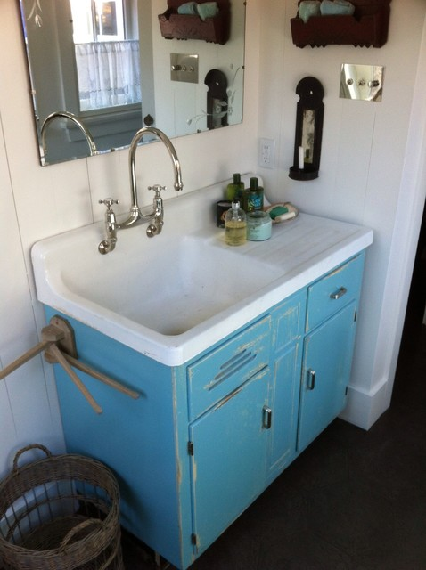 Custom Kitchens and Cabinetry eclectic-bathroom-vanities-and-sink-consoles