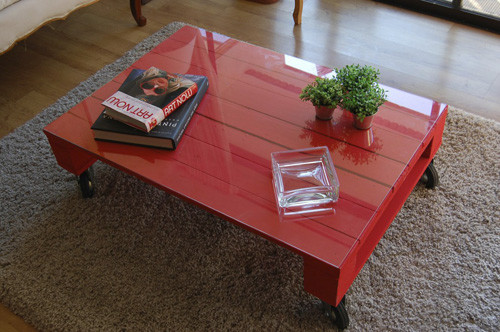 pallet table eclectic coffee tables