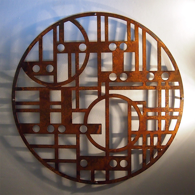 Rusted Steel Wall Art Modern Toronto By Moda Industria