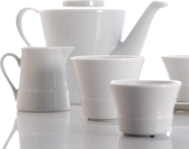 Royal Limoges Saveur White Dinnerware modern-dinnerware