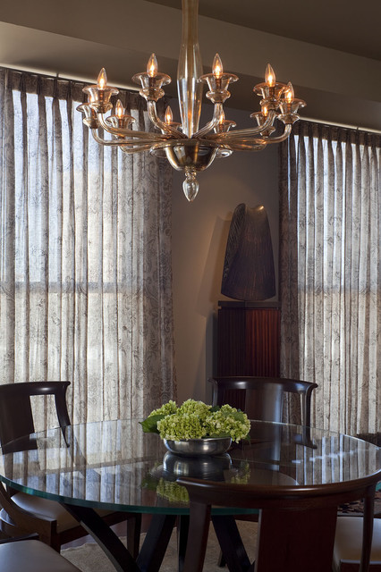 High-Rise Sophisticate - Dining Room traditional-dining-room