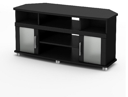 """City Life 47"""" Corner TV Stand - Modern - Entertainment Centers And Tv Stands - by Wayfair"""