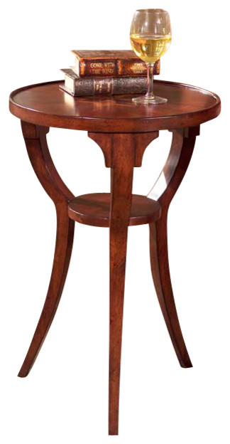 ROUND ACCENT TABLE traditional-side-tables-and-accent-tables