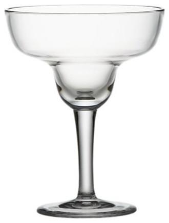 Acrylic Margarita Glass contemporary-wine-glasses