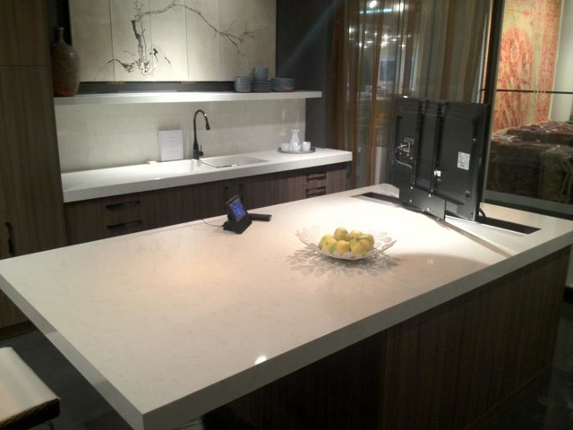 Engineered Stone Countertops : Engineered stone - Contemporary - Kitchen Countertops - atlanta - by ...