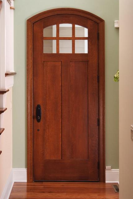 Custom Exterior Quartersawn White Oak Door Craftsman Front Doors Other Metro By Baird