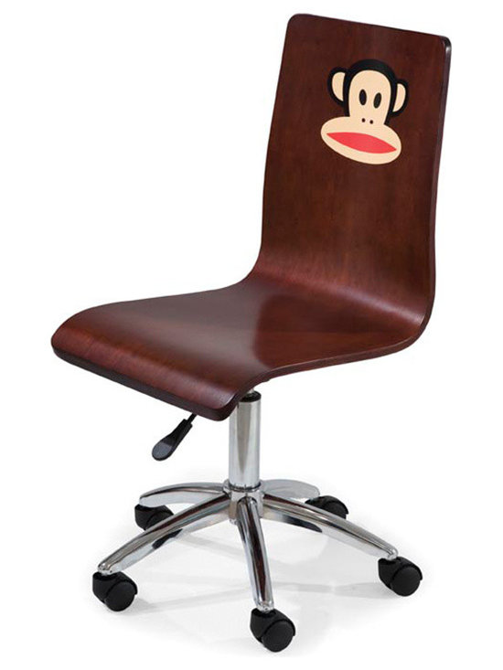 Kids Furniture - Bring a bit of fun to your office with the Paul Frank Office Chair. Bright colors and Julius will definitely make your desk a brighter place.