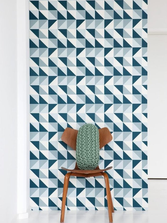 Ferm Living Remix Wallpaper - Ferm Living's Wallpaper is graphic & whimsical adding character, charm and personality to any room. Wallpaper has a striking effect and will without a doubt turn your room into a sanctuary.