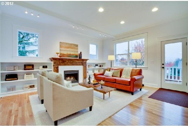 Staging, Portland, OR eclectic-family-room