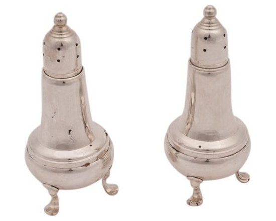 SOLD OUT! Sterling Silver Salt and Pepper Shakers - $120 Est. Retail - $39 on Ch -