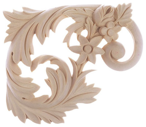 Dallas Stair Brackets (Right) - maple wood traditional-molding-and-millwork